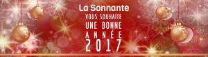 La Sonnante vous souhaite une Bonne année 2017