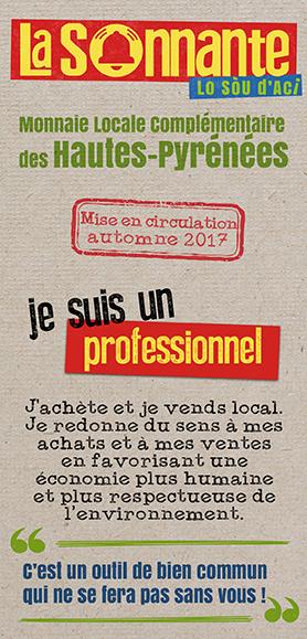 Plaquette présentation de La Sonnante pour les professionnels et associations