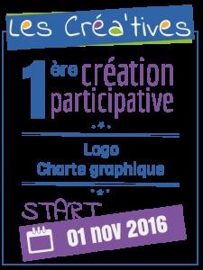 Créa'tives - Logo et charte graphique