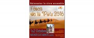 01 & 02 Oct. 2016 5ème Fête de la Paix à Montaigut Arros (32) @ Montégut-Arros | Languedoc-Roussillon Midi-Pyrénées | France