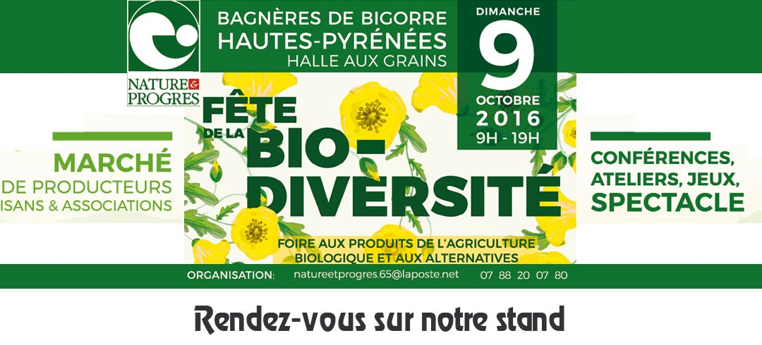 09 Oct. 2016 – 1ère Fête de la Bio-Diversité