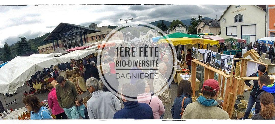 Notre participation à la 1ère Fête de la Bio-diversité à Bagnères-de-Bigorre