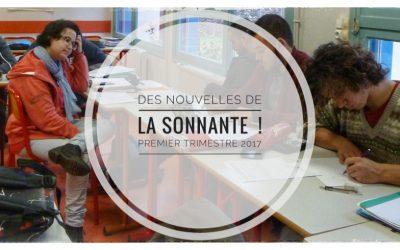 Des nouvelles de La Sonnante !