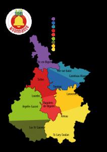 Comités Locaux Carte